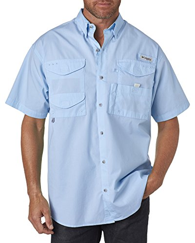 Columbia Men's Bonehead Short-Sleeve Work Shirt (White Cap, X-Large)