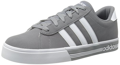 Adidas Performance Men's Daily Team Fashion Sneaker, Grey/White/Tech Grey Fabric, 11 M US