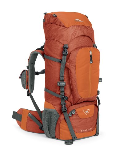 B004EBN6YS High Sierra Classic Series 59401 Sentinel 65 Internal Frame Pack Auburn 32×14.25×8.75 Inches 3970 Cubic Inches 65 Liters