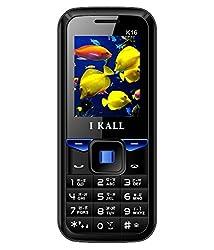 I KALL K16 Dual Sim Mobile (1.8 Inch display) -Blue