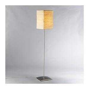 Floor lamp, steel, natural