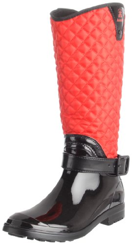 Kamik Women's Alexandra Insulated Rain Boot,Red,6 M US