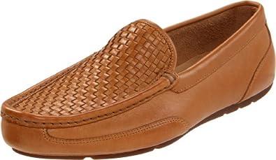 Rockport Men's GE Woven Venetian Loafer, Tan, 13 W US