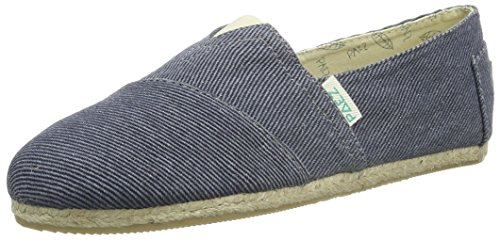 PaezOriginal Raw Essentials Sea - Espadrillas Unisex - Adulto , Blu (Blau (Blue 0043)), 40