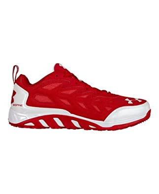 Under Armour Men's UA Spine™ Turf Trainers 6.5 Red