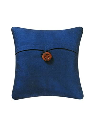 Envelope Feather Down Pillow, Navy