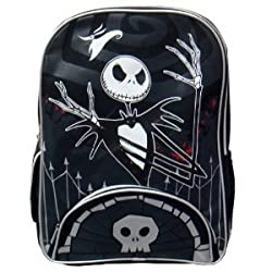 The Nightmare Before Christmas Backpack - 16in Jack Large Backpack