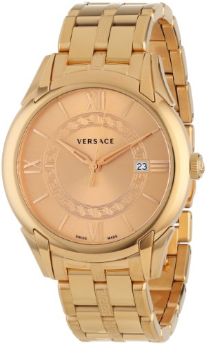 "Versace Men's VFI060013 ""Apollo"" Rose Gold Ion-Plated Stainless Steel Casual Watch image"