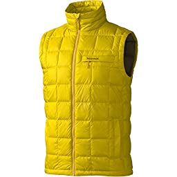 Marmot Ajax Vest for Men, X-Large, Green Mustard