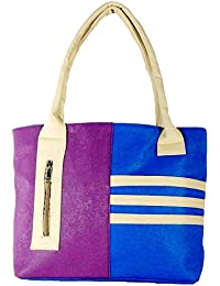 All Day 365 Women's Handbag Blue And Purple HBA09