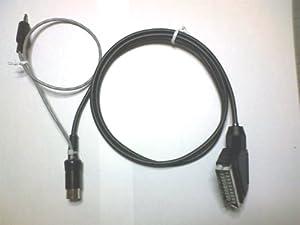 メガドライブ用 ステレオ音声対応 RGB21ピン接続ケーブル Ver.2