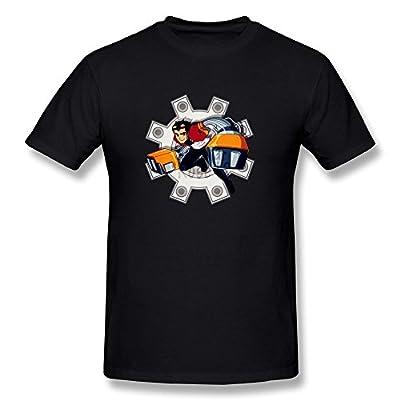 Generator Rex Rock Logo Men's T-shirt Black