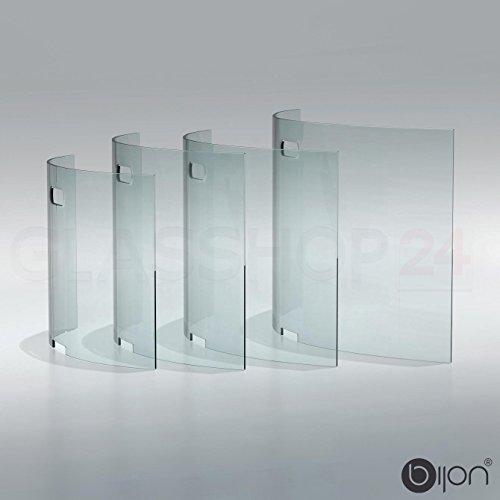bijon-Kamin-Ofen-Glas-Funkenschutzgitter-Funkenschutz-Schutzgitter-85x50x18cm-BxHxT