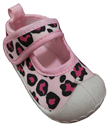 Rising Star Water Pink Leopard Shoe - Infant - 1