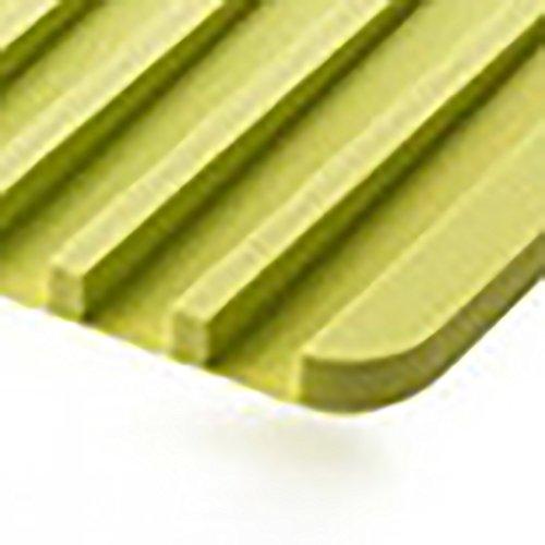 Airflow Glassware Drying Mat Silicone Rectangular Drainer