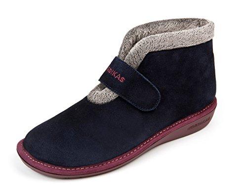 Pantofole donna nordika (40, blu marino3)