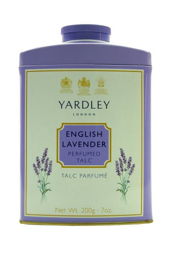 Yardley London English Lavender Tin Talc 200g