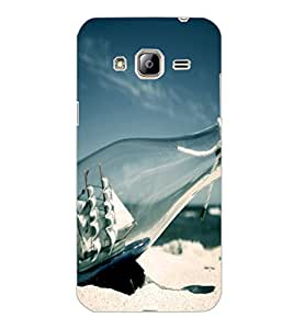 SAMSUNG GALAXY J3 2016 BOTTLE SHIP Back Cover by PRINTSWAG