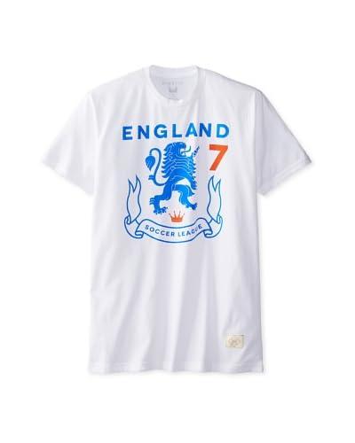Kinetix Men's Pima England Crew T-Shirt