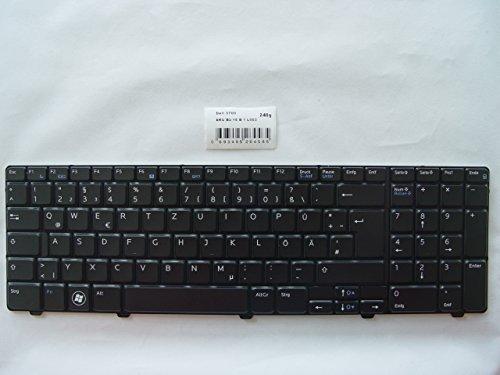 OUBO DE Notebook-TASTATUR in schwarz black passend für DELL Vostro 3700 ersetzt NSK-DPA0G, 0V595C inkl. Nummernblock, ohne Backlit-Beleuchtung