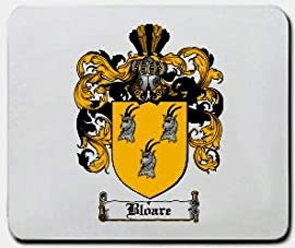 Bloare Family Shield / Coat of Arms Mouse Pad