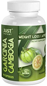 ★ Just Potent Pharmaceutical Grade Garcinia Cambogia ★ 2400mg Per Serving ★ 65% HCA ★ 90 Capsules ★ Garcinia Cambogia Extract and Potassium Only (Best Combination) ★