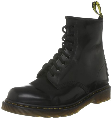 Dr Martens 10072028  Stivaletti stringati unisex adulto, Nero (Black/Smooth), 37
