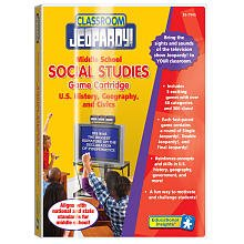 Middle School: U.S. History, Geography, and Civics (Pre-Programmed Classroom Jeopardy Cartridge)
