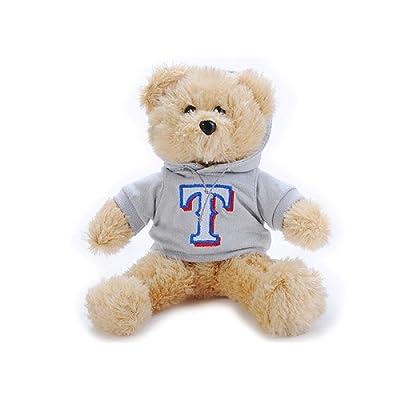 MLB Texas Rangers 2008 Fuzzy Hoodie Bear, 8-Inch
