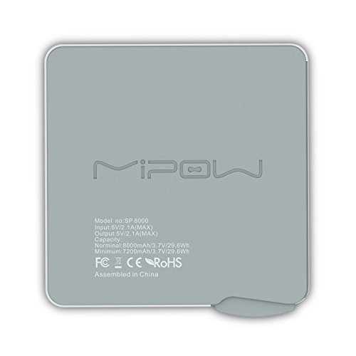 Mipow-SP8000L-SR-Power-Cube-8000mAh-Power-Bank