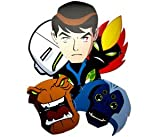 Ben 10 Alien Force Party Masks