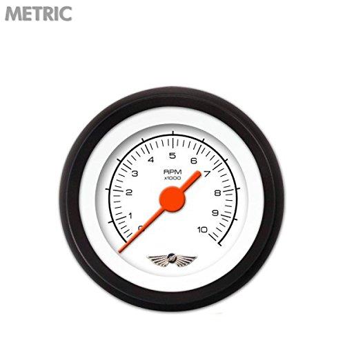 Vintage Autobahn White Speedometer Gauge GAR164ZMXHABCC Aurora Instruments