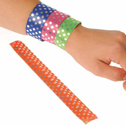 Sequin Slap Bracelets