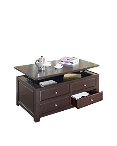 ACME Furniture Lift Top Coffee Table, Espresso