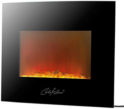 Carlo-Milano-Design-Elektrokamin-fr-Wandmontage-2000-Watt-66x46-cm