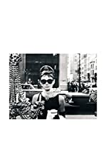 Artopweb Panel Decorativo Audrey Hepburn 80x60 cm Multicolor