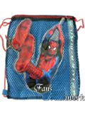 Marvel Spider-Man Drawstring Travel Pack- Spiderman Bag