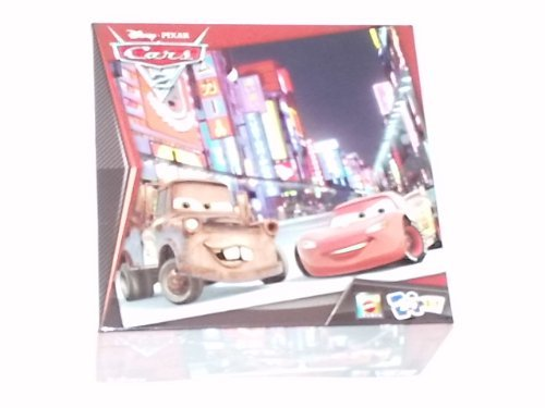 Disney / Pixar Cars 2 Race Team Mater - Mcqueen 24 Piece Puzzle