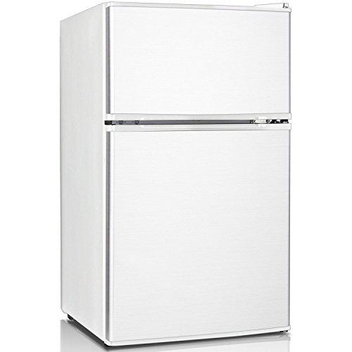 Keystone KSTRC312CW Compact 2-Door Refrigerator/Freezer, 3.1 Cubic Feet, White (Mini Fridge Keystone compare prices)