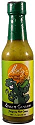 Award Winning Monty's Gourmet Green Scream Jalapeno Hot Sauce feat. Sheldon comic strip artist Dave Kellett. Best Jalapeno Hot Sauce with Medium Heat and Incredible Fresh Flavor