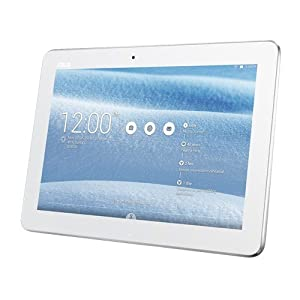 Asus TF103c 10.1-inch Convertible Tablet with Detachable Keyboard (White) - (Intel Atom Z3745 1.33GHz, 1GB RAM, 16GB SSD, WLAN, Bluetooth, Camera, Android 4.4)