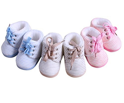 Générique bébé unisex prewalker doux semelle souples chaussure épaissi d'intérieur d'hiver chaud pour les enfants naissances