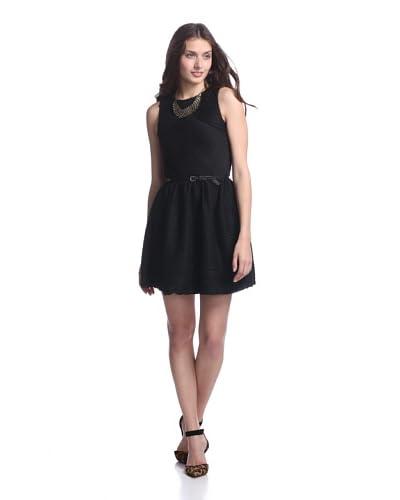 Junk Dresses Women's Fall Out Dress  [Black]