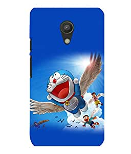 printtech Doraemon Cartoon Back Case Cover for Motorola Moto G2 X1068::Motorola Moto G (2nd Gen)