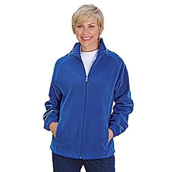 Blair Women's Plus Size Scandia Fleece Jacket at Amazon