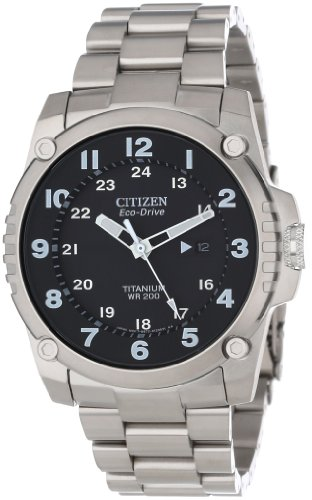Citizen Men's BJ8070-51E Eco-Drive STX43 Shock Proof Titanium Watch