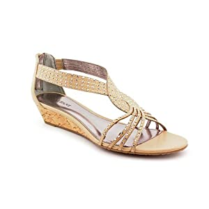 Alfani Women's Genesis Wedge Sandals Shoes Open Toe Size 10m