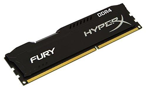 8GB DDR4 Kingston HyperX Fury Black Series 2133 MHz DDR4 CL14 288 Pin-DIMM Memory - HX421C14FB/8
