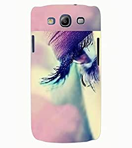 ColourCraft Beautiful Eye Design Back Case Cover for SAMSUNG GALAXY S3 I9300