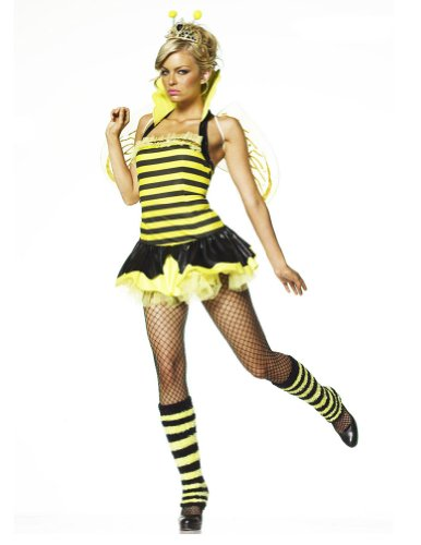 Extra-Small - Queen Bumble Bee- Extra-Small